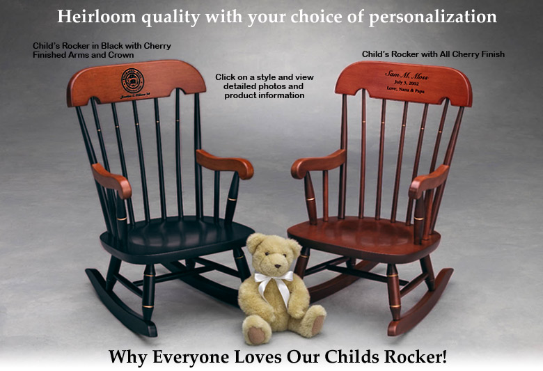 Childu0027s Rocker - Childrens Rocking Chair - Heirloom Rocking Chair. u201c & Childu0027s Rocker Childrens Rocking Chair Heirloom Quality ...